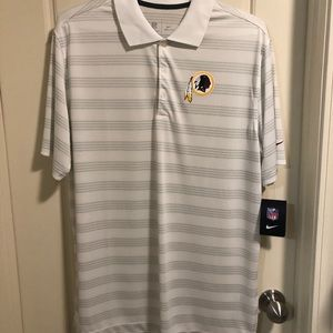 Nike Dri Fit Washington Redskins Polo